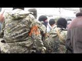 Жители не рады приезду сепаратистов и российских диверсантов Красный Лиман 12 04 1...