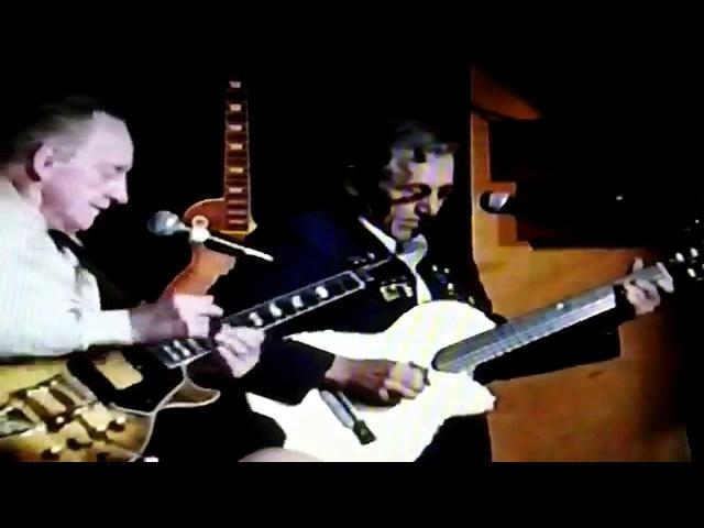 Les Paul with Chet Atkins Iridium N.Y.C. 1996