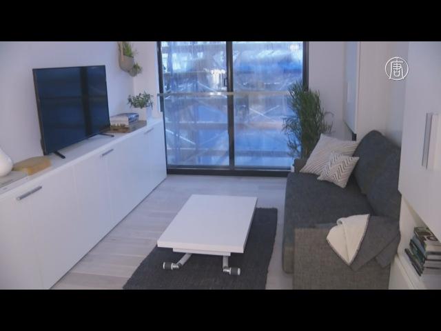 Микроквартиры – новый тренд в Нью-Йорке (новости)