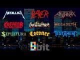 Thrash Metal bands in 8-bit (NES)