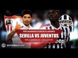 Севилья 1:0 Ювентус | Лига Чемпионов 2015/16 | Групповой этап | 6-й тур | Обзор Матча