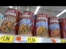 США. Супермаркет, цены на основные продукты молоко, мясо, овощи...