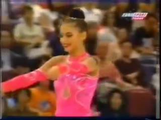 ЧМ 1999. Индивидуальное многоборье. Алина Кабаева - скакалка