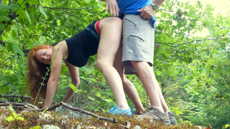 Chloe Morgane Wild Sex In The Forest PORN CORN