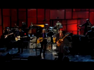 Tom Petty, Jeff Lynne, Steve Winwood, Prince and others – While My Guitar Gently Weeps