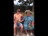 Баба Люда и ебун трава =)