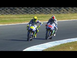 Весь сезон MotoGP 2015 года за 4 минуты