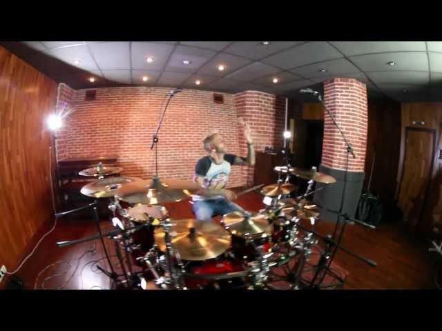 Noize MC Заебались Drum Cover by Mikhail Kozodaev