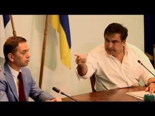 Это рэкет, дорогой мой! Михаил Саакашвили разгромил прокуроров-вымогателей пря...
