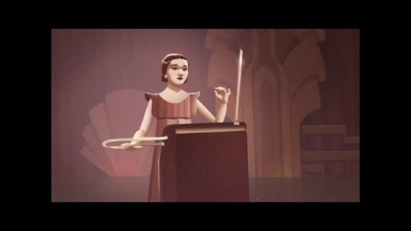 Clara Rockmore's 105th Birthday - theremin (Google).