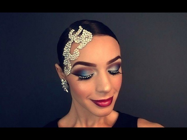 BALLROOM DANCING MAKEUP TUTORIAL V.5 - Rachel Maree Macintosh