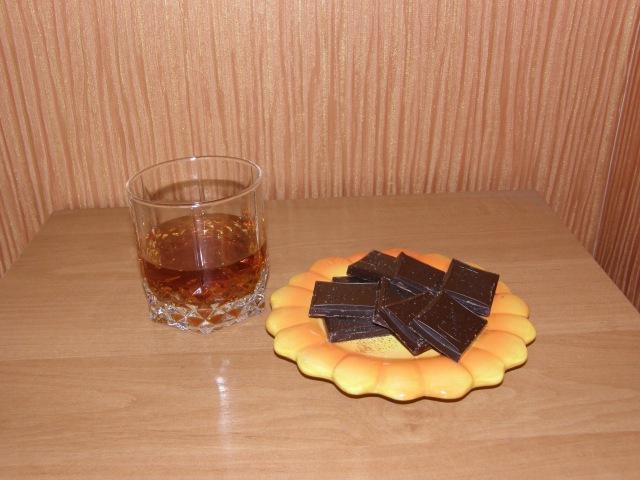 Рецепт алкогольного напитка со вкусом коньяка..