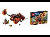 Обзор на набор лего NEXO KNIGHTS 70313 Лавинный разрушитель Молтора