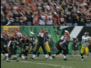 The Run to the Super Bowl XL: Wild Card Game, Steelers 31 Bengals 17