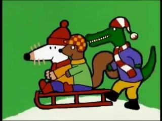 Maisy mouse - Snow