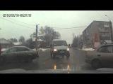 Автоавария на перекрестке улиц Некрасова и Богдана Хмельницкого в Иванове