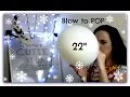 "31 Days Christmas Blow to Pop BTP Big 22"" Balloon Dedicated to Anthonys Den"