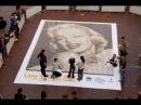 The Rocks Aroma Festival Coffee Sculpture - Marilyn Monroe