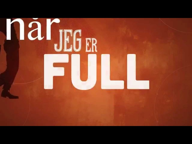 Robin og Bugge - Best når jeg er full (lyric video)
