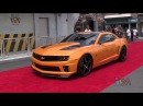 Optimus Prime, Bumblebee, Megatron transform talk at Transformers grand opening in Orlando