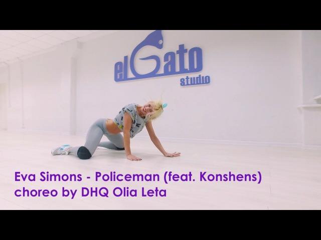 Eva Simons - Policeman | Dancehall Workshop by DHQ Olia Leta