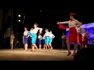 Танец стюардесс. Latina Club ladies style