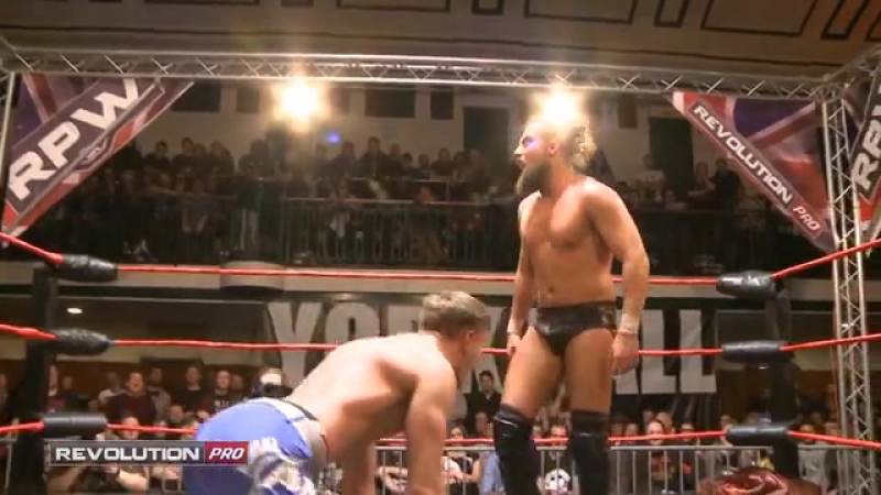 Marty Scurll vs. Will Ospreay (RPW British Heavyweight Title 1 Contendership match) (RPW High Stakes 2016 - 16/01/2016)