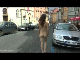 Adela Nude in Public 3