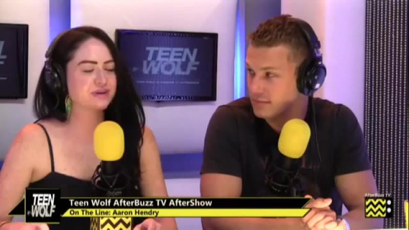 Teen Wolf After Show w_ Ian Stokes Skyler Maxon Season 3 Episode 24 _ AfterBuzz TV