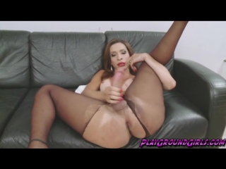 Shemale Lovely tranny babe Gabrielli Bianco by a huge cock