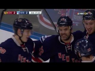 Первый хет-трик Артемия Панарина в НХЛ