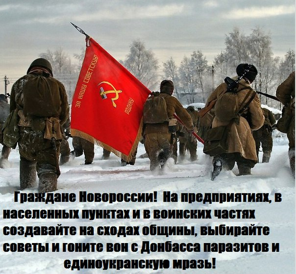 Выход есть - Советы Новоросси!