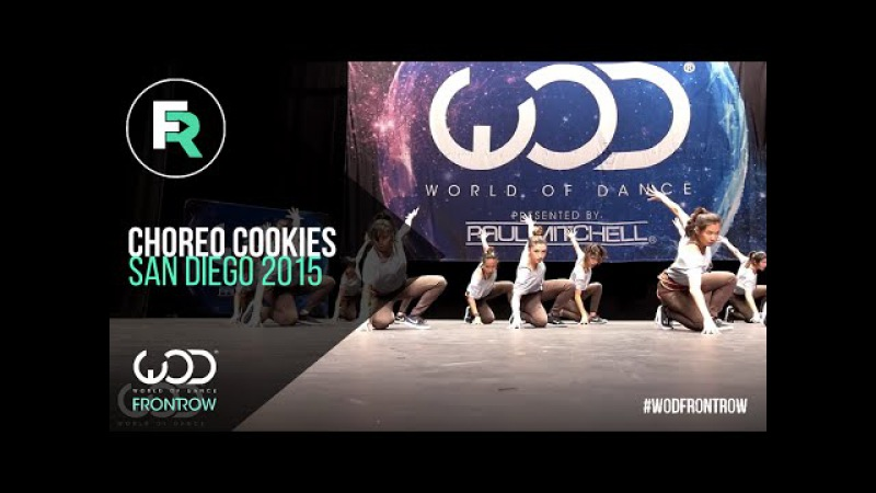 Choreo Cookies | 1st Place Upper Division | FRONTROW | World of Dance San Diego 2015 | WODSD15