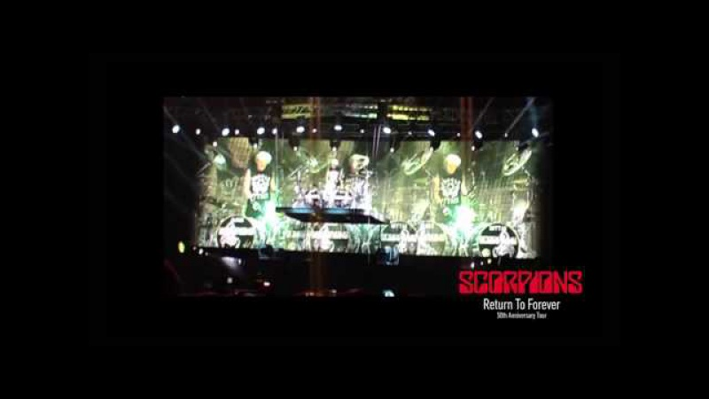 Scorpions fan video mix Novosibirsk Russia 14.05.2015