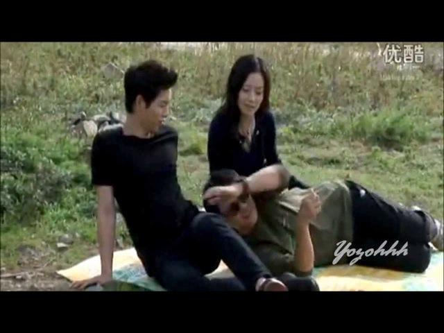 SONG JOONG KI MOON CHAE WON (ChaeKi Couple) Sweet Moment @ Nice Guy BTS Part.1