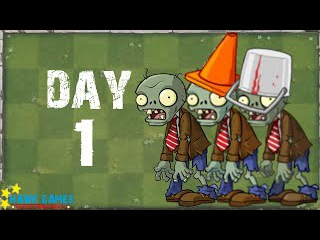Plants vs. Zombies 2 - Modern Day Day 1