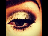 PROM Black &amp Silver Smokey Eye Makeup Tutorial - Naked 2 Palette