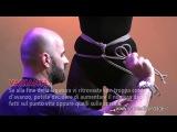 Обвязка бёдер (hip harness) от Stefano Laforgia (Шибари)