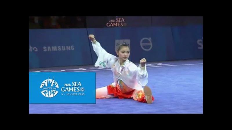 Wushu Women's Optional Taijiquan Day 2 28th SEA Games Singapore 2015