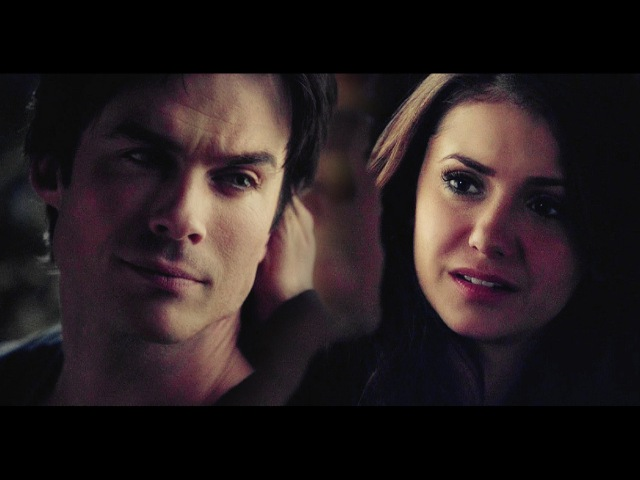 ►damon elena | listen to your heart