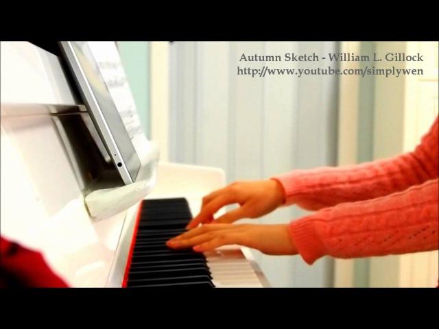 Autumn Sketch - William Gillock - Piano
