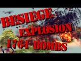 Besiege - Explosion 1764 bombs