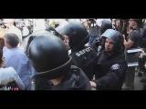 Хунта крышевала гей-парад в Киеве 25.05.2014. Позор для славян...