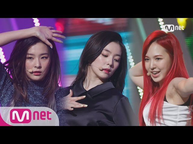 Red Velvet(레드벨벳) - Cool Hot Sweet Love Comeback Stage M COUNTDOWN 160317 EP.465