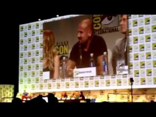 Legends of Tomorrow Captain Cold Wentworth Miller Talks Teams SDCC Hall H San Diego Comic-Con