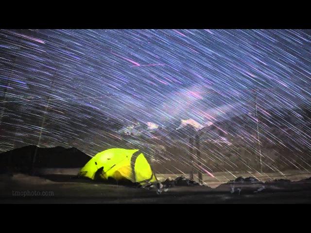 Семь лет метеорных дождей в одном видео