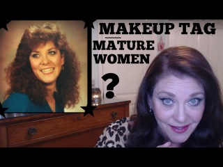 Makeup Tag for Mature Women (by Donna's Mature Life)