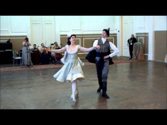 Венгерский танец. Показательный танец.