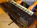Oberheim OB-Xa Analog Synthesizer 1980 single sound demo