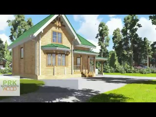 07-108 проект загородного дома из бруса prkwood.ru